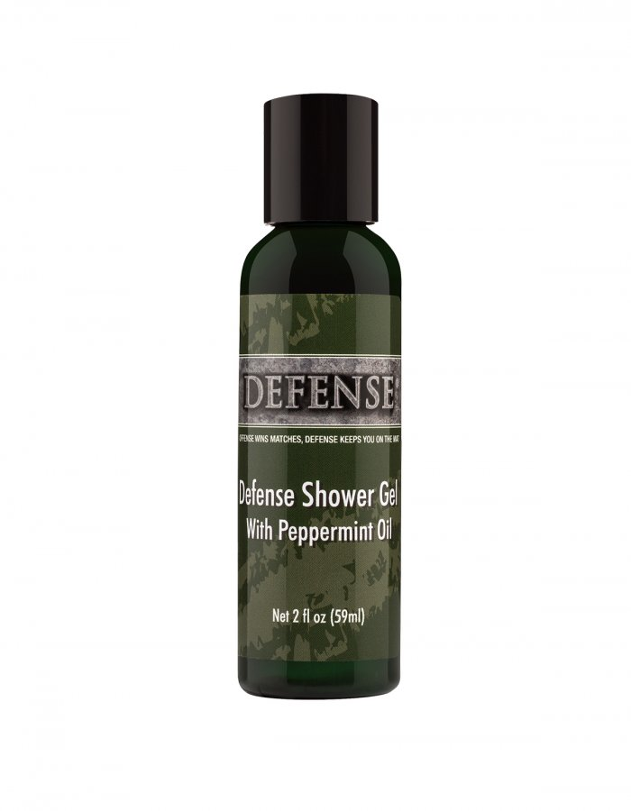 Defense Peppermint Shower Gel Travel Size